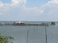 Floating Fishing Village Outside of Barranquilla