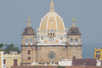 San Pedro's Claver's Dome Cartagena Colombia Cartagena History, Culture, and Architecture