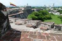 The Castillo de San Felipe de Barajas Cartagena Colombia