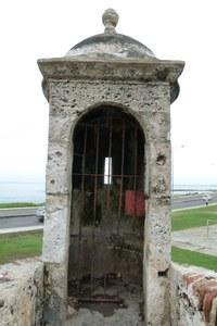 The Spanish Fortress El Castillo de San Felipe de Barajas Cartagena Colombia