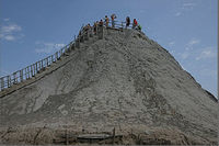 Mud Volcano El Volcan Tuturno Cartagena Colombia Travel Activities