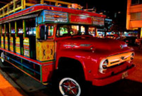 vallenato chiva bus night tour of cartagena colombia