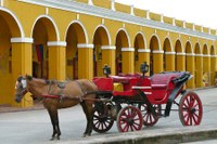tourism cartagena colombia horse carriage