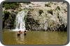 Costeño Beach - Quebrada Valencia Falls