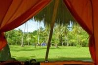 Tent Camping at Arrecifes Tayrona National Park Santa Marta Colombia