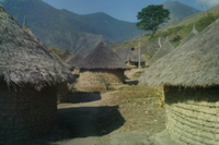 Indigenous Village in Parque Sierra Nevada de Santa Marta Near Valledupar