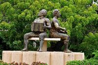 Valledupar Musician Statue Colombia